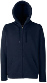 Caroline Deep Navy Hooded Sweat photo