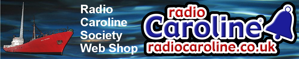 Radio Caroline Society web shop header